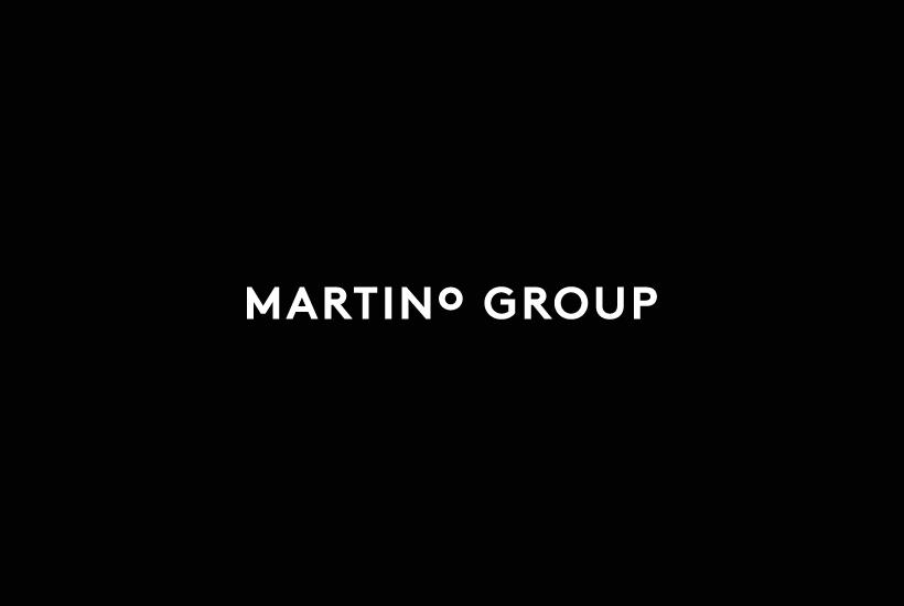Logotype for Australian property developer Martino Group designed by Studio Hi Ho