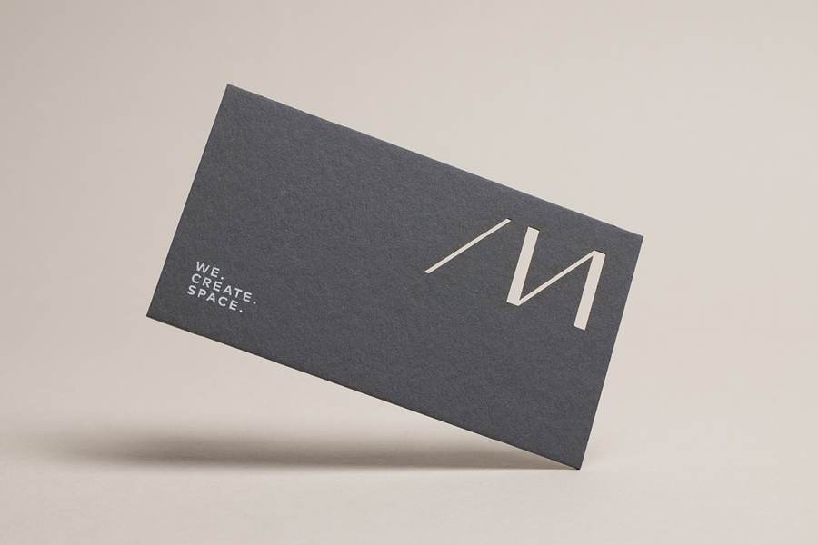 Branding for Nicholas Architects by Strategy Design, New Zealand