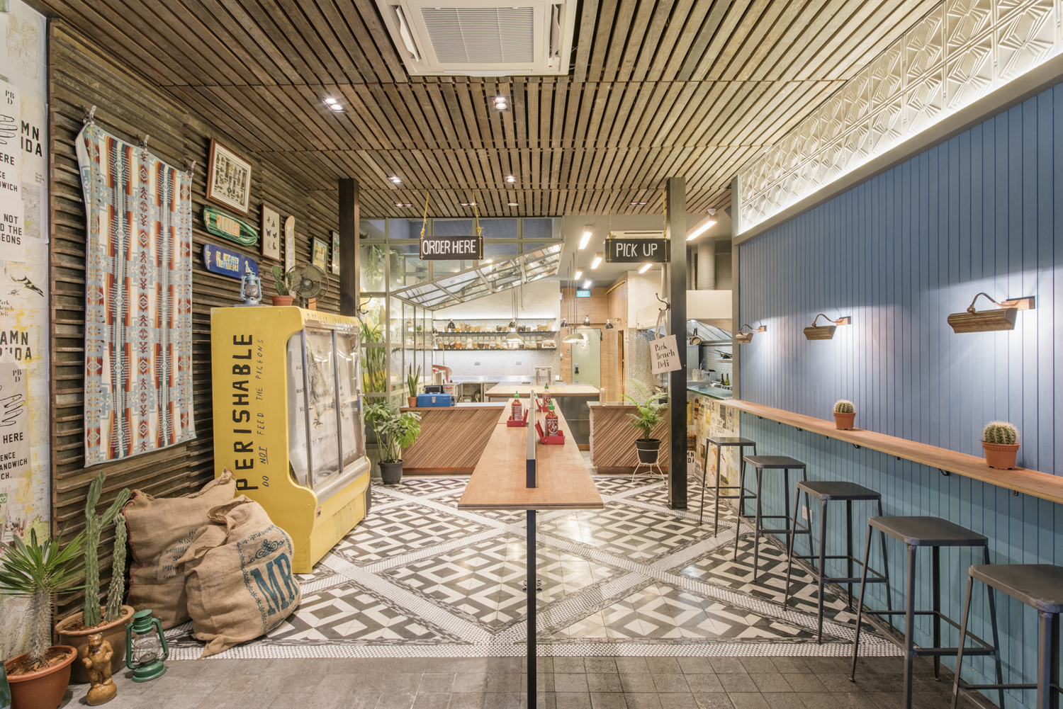 Branding & Interior Design – Park Bench Deli by Foreign Policy, Singapore