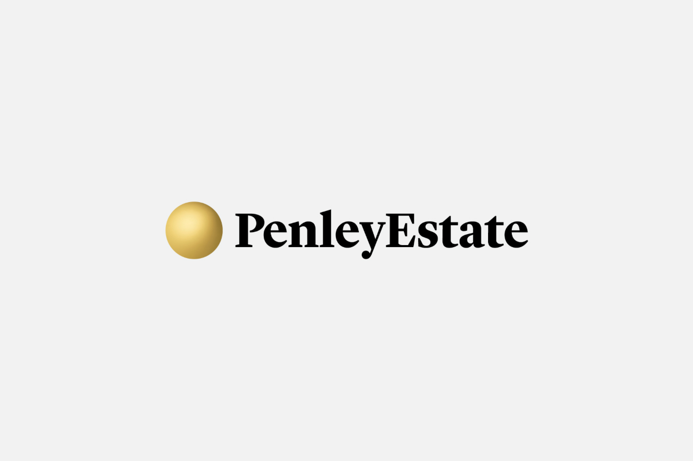 New logo by Parallax Design for family run and award winning winery Penley Estate, Australia