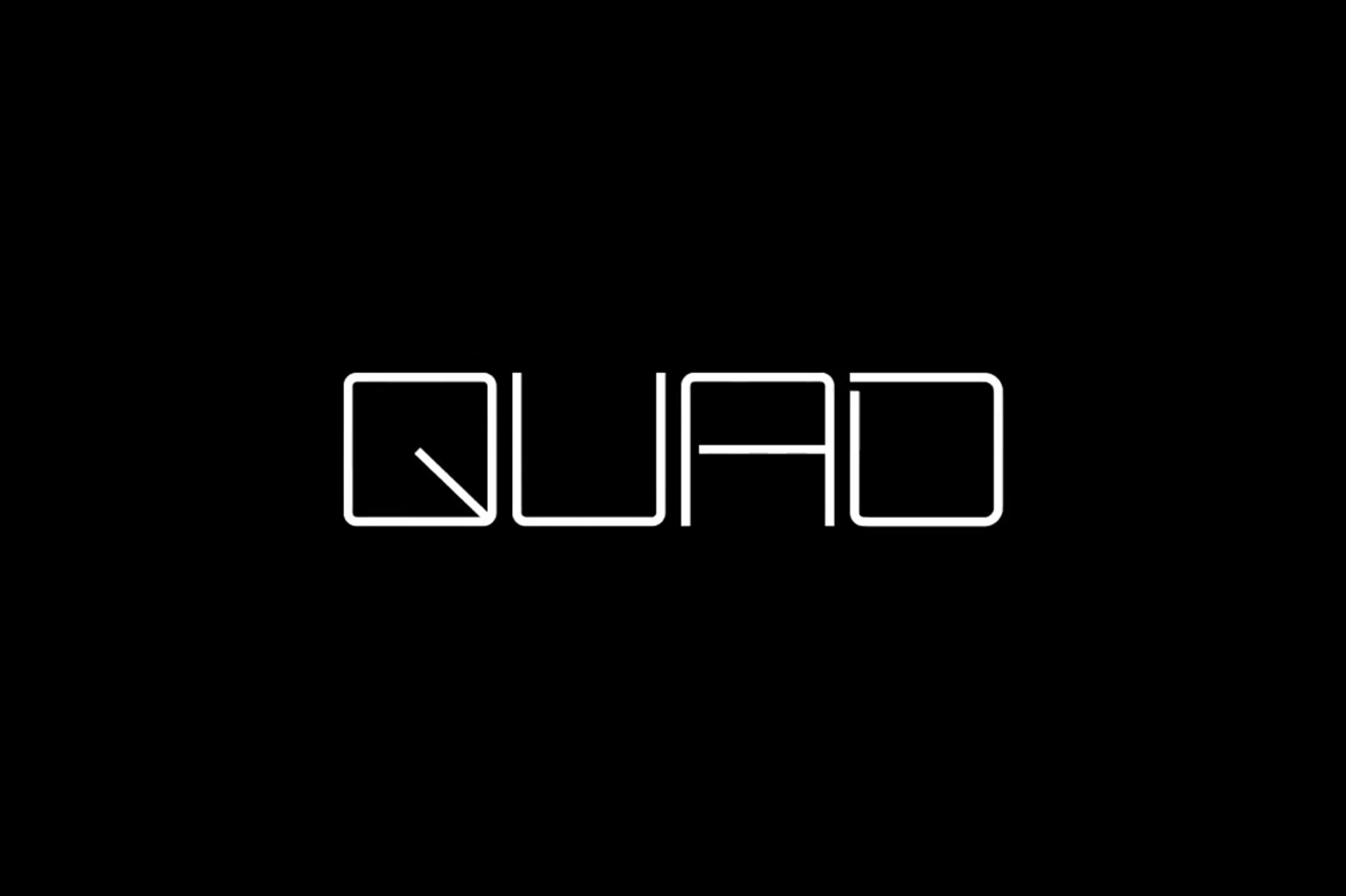 Logotype by Pentagram for New York's Quad Cinema