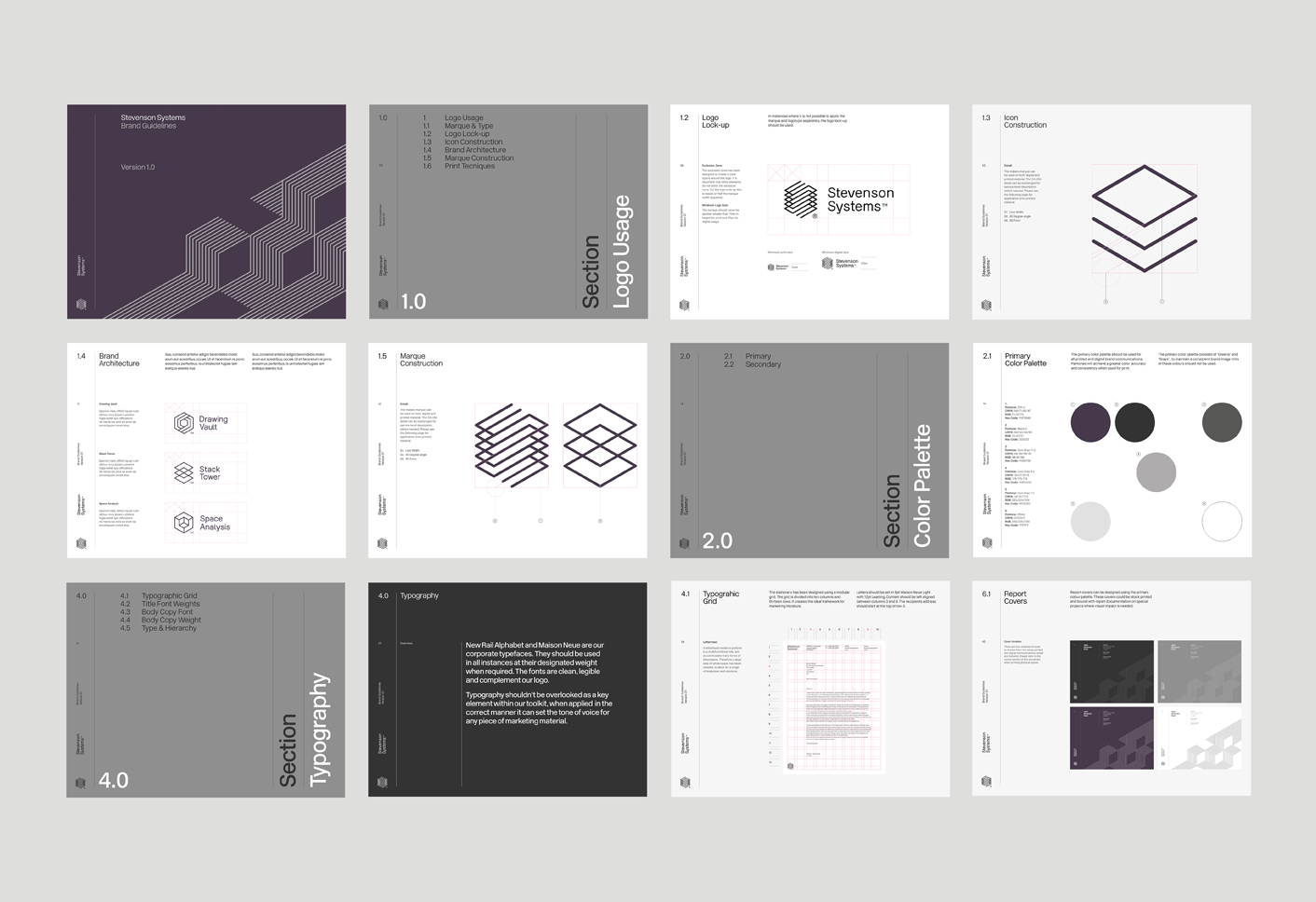 Branding for stevenson systems by socio design bp o for Office design guidelines uk