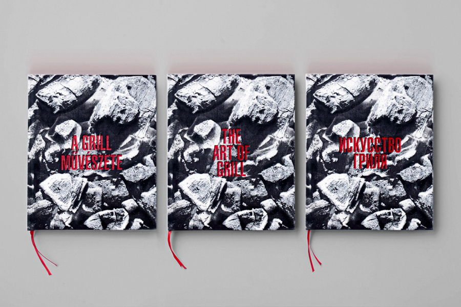 Graphic design by David Barath for The Art Of Grill
