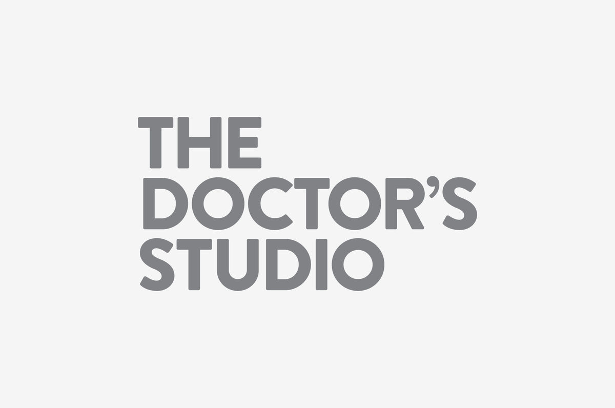 Logotype for Melbourne based non-invasive cosmetic surgery The Doctor's Studio by graphic design studio A Friend Of Mine