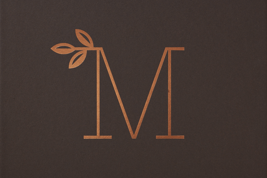 Monogram by Pentagram for new property development The Mansion on Marylebone Lane