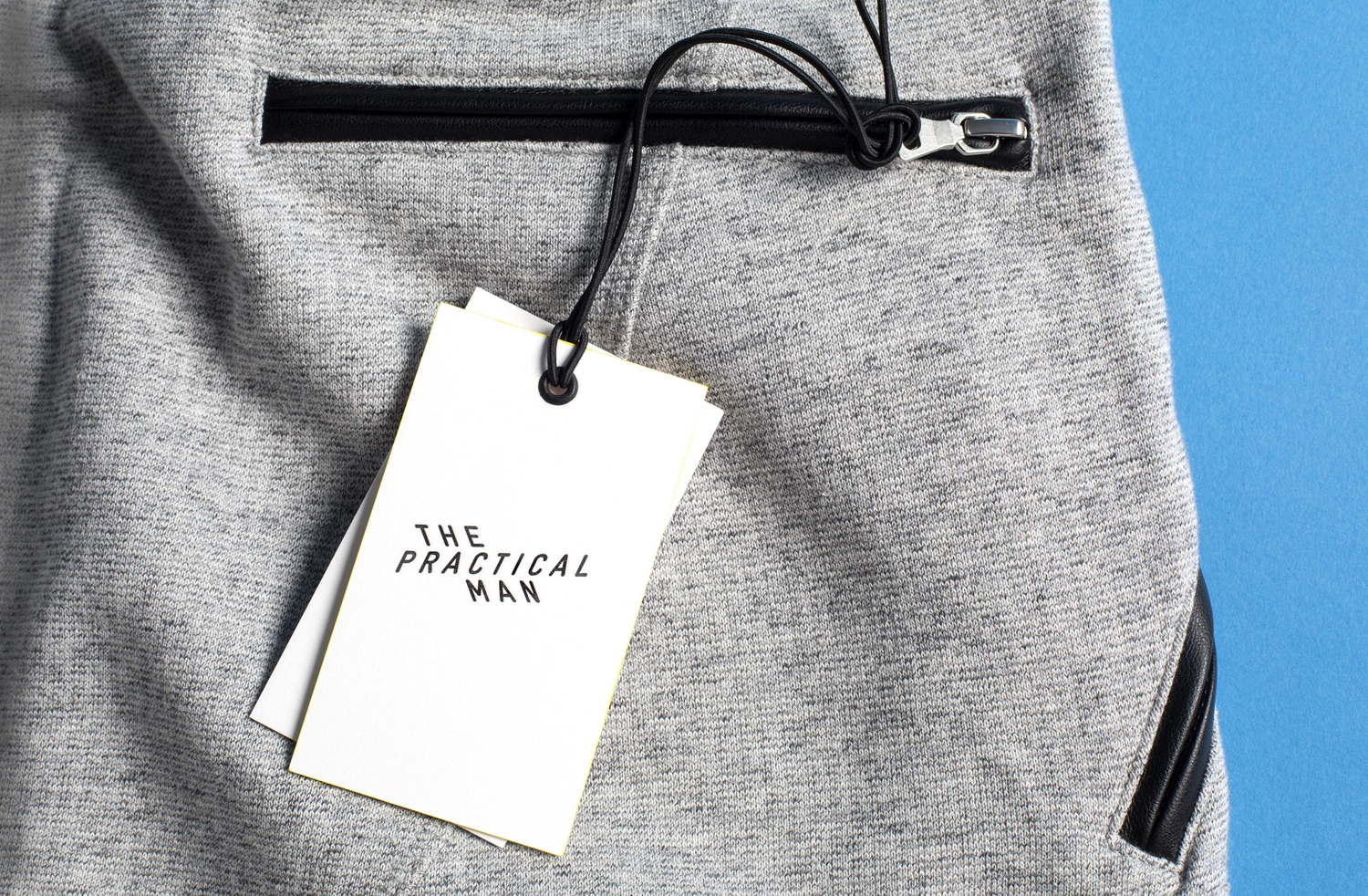 Branding for sports and fashion retailer The Practical Man by Australian graphic design studio Garbett