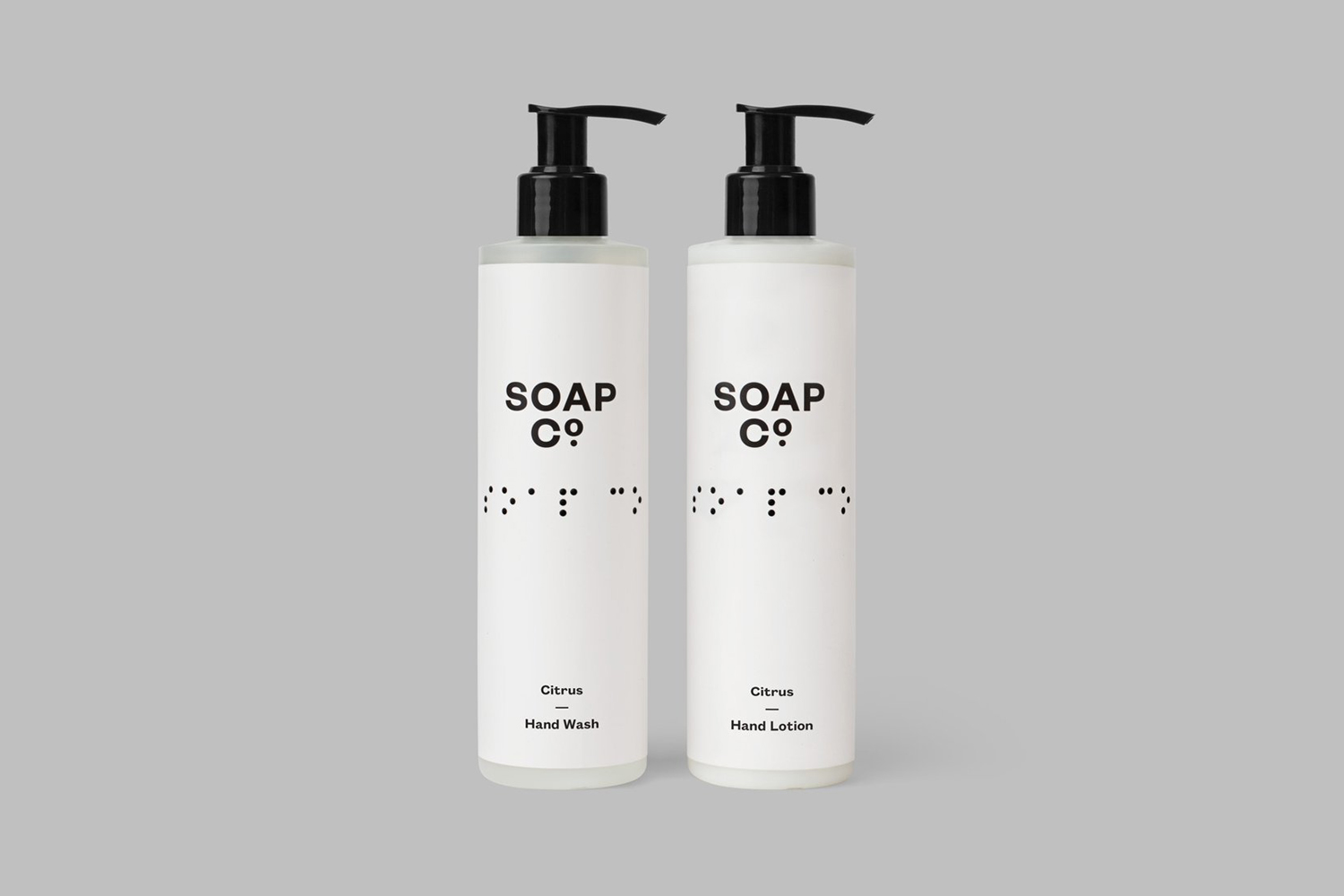 Logo and package design by UK based graphic design studio Paul Balford Ltd. for luxury hand made soap business the Soap Co.