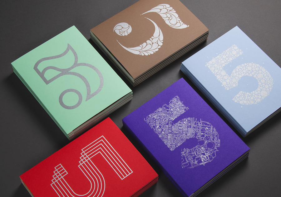 Cover and editorial design for Thinking 5 Issue 5 by graphic design studio Strategy