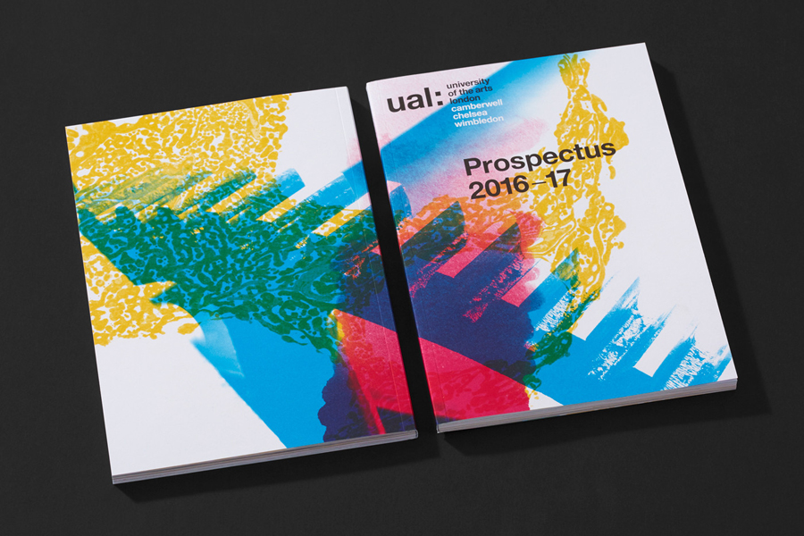 Graphic design by Spy for the University of the Arts London