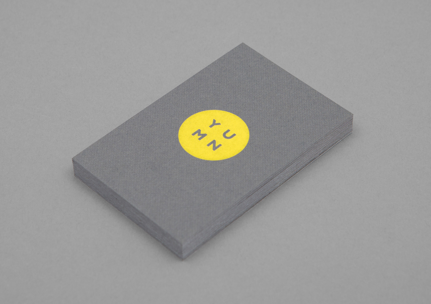 Logo and business card design by Brighton-based Filthymedia for Boxpark Croydon's casual luxury restaurant Yumn