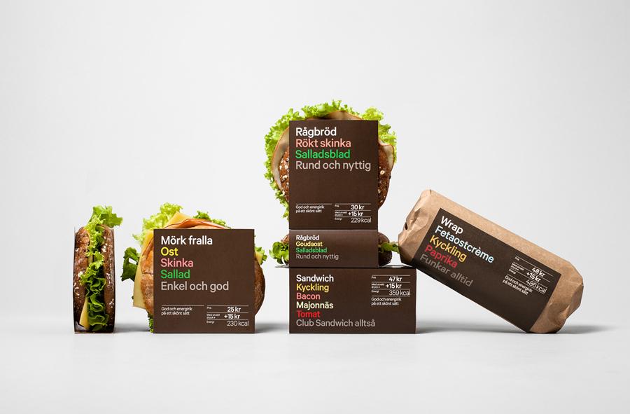Reitan 7-Eleven packaging by BVD designed in Stockholm, Sweden