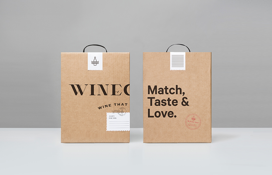 New brand identity for winecast by anagrama bp o for Best wine delivery service