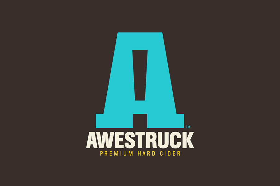 Logo designed by Buddy for Awestruck Hard Cider