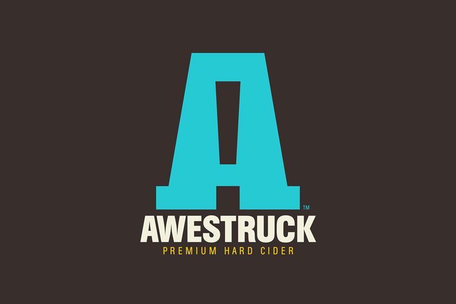 Logo designed by Buddy for Awestruck Hard Cider