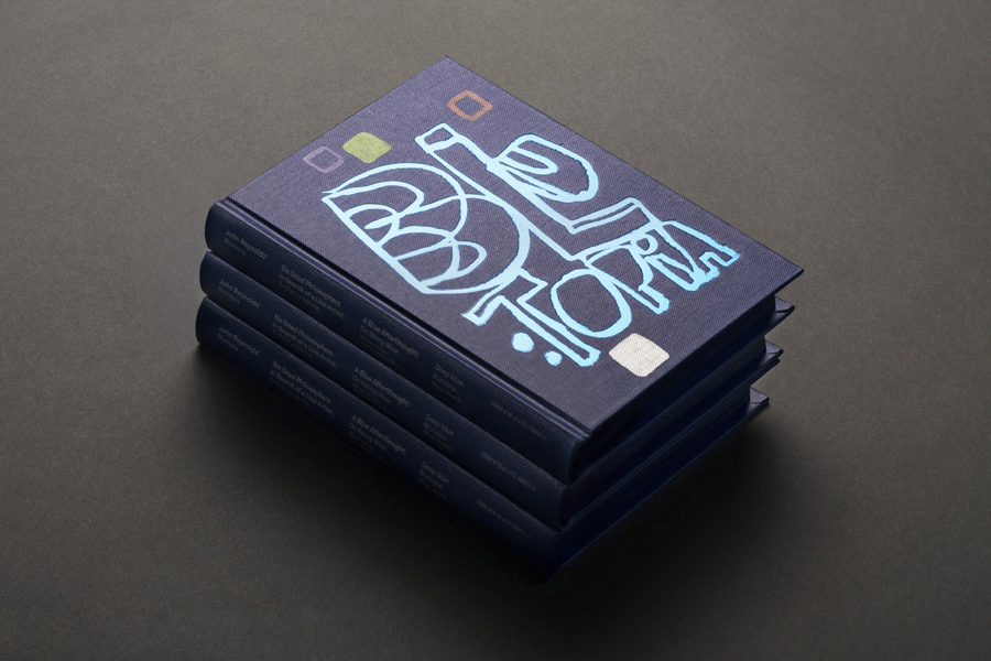 Graphic design by Inhouse for John Reynolds' Blutopia
