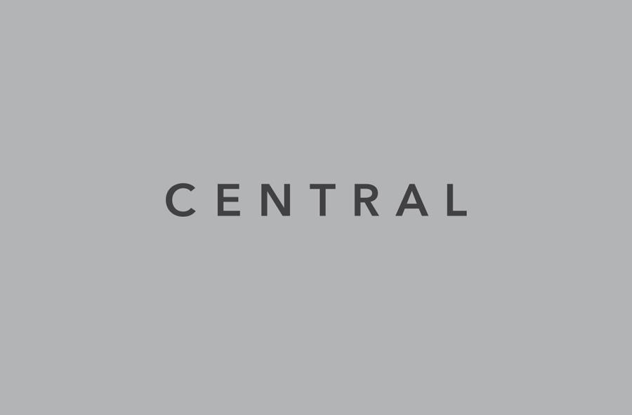 Logo for Spanish art, design, fashion and pop culture magazine Central designed by Leon Jorge