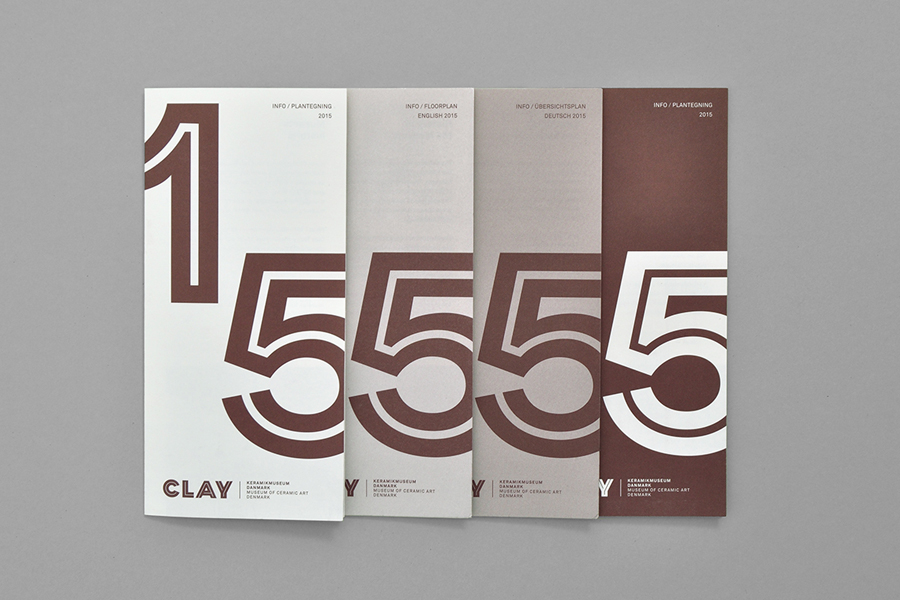 Branding for Clay — Museum of Ceramic Art Denmark by Studio Claus Due