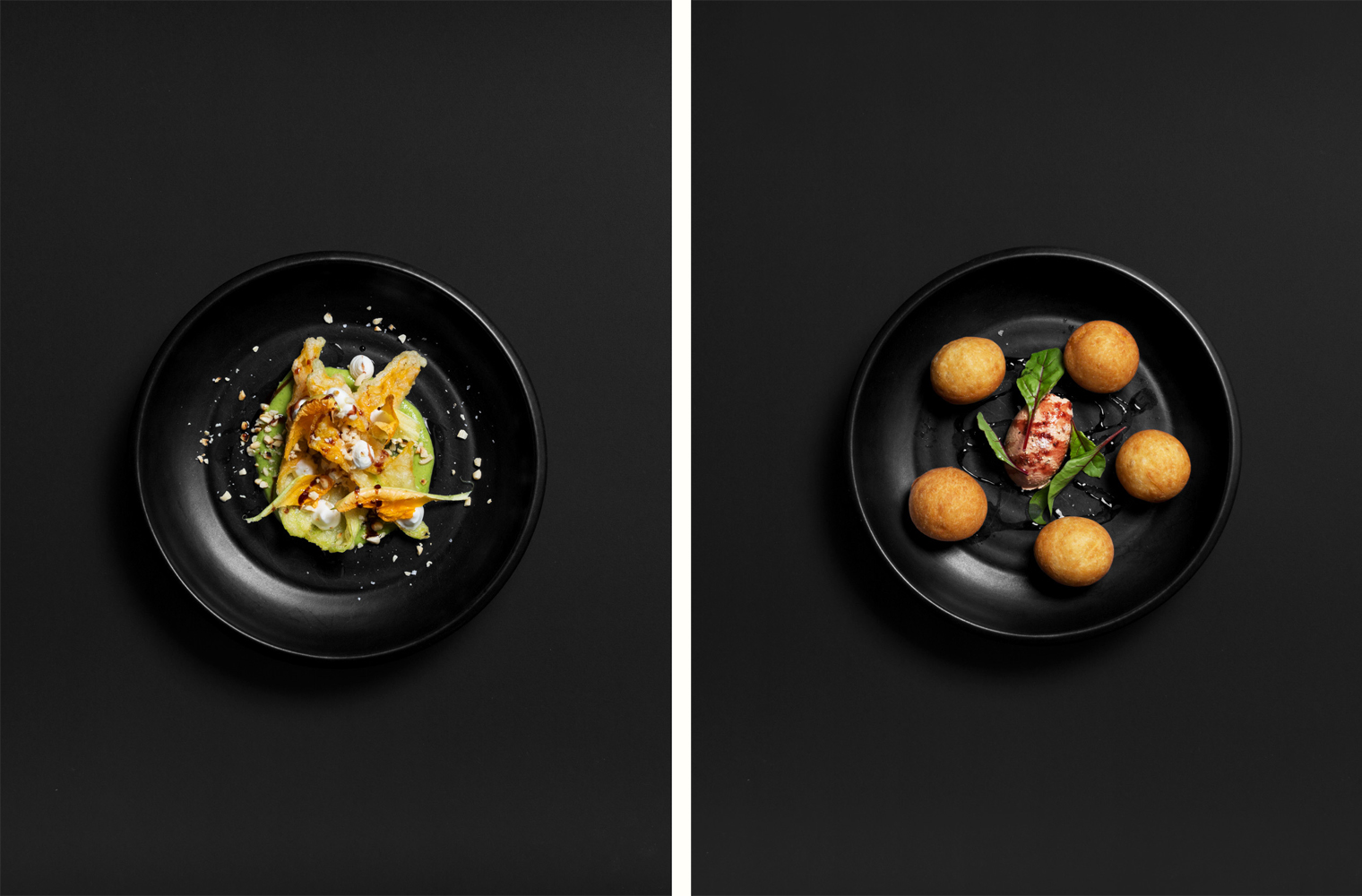 Food photography art direction by Studio South for Auckland bar and restaurant Culprit