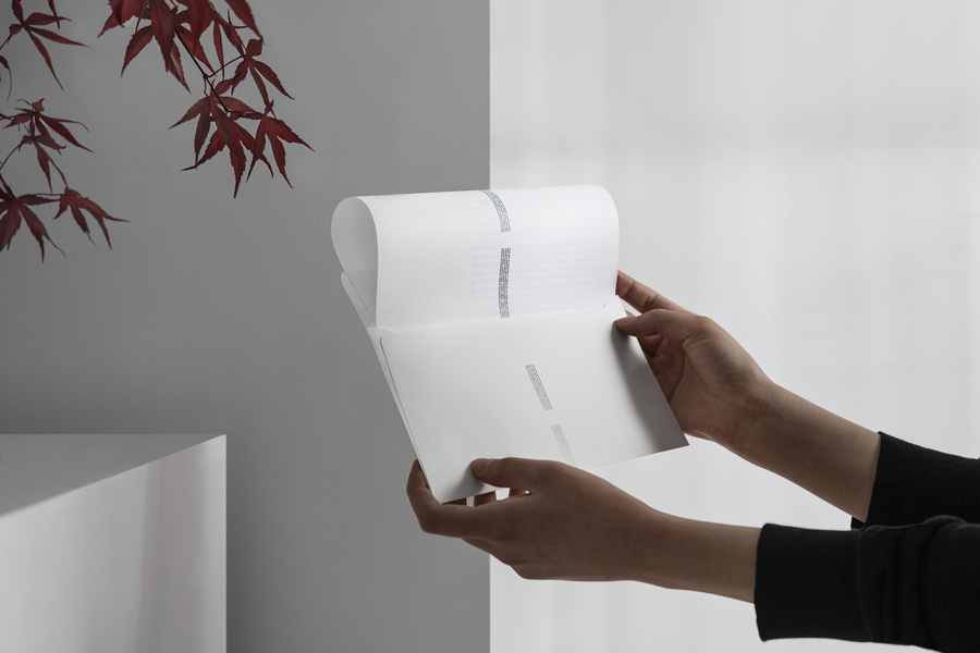 Headed paper and envelope for Edouard Malingue Gallery by graphic design studio Lundgren+Lindqvist