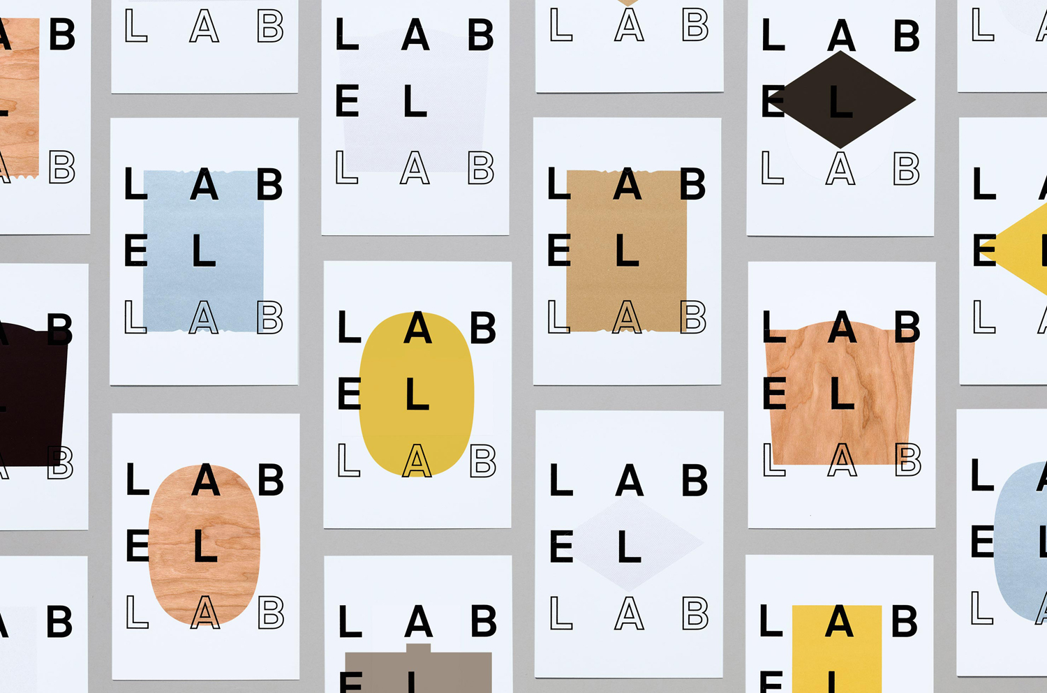 Logotype and invitation by TM for Label Lab, The Forum for Label and Packaging Innovation, hosted by Arconvert.