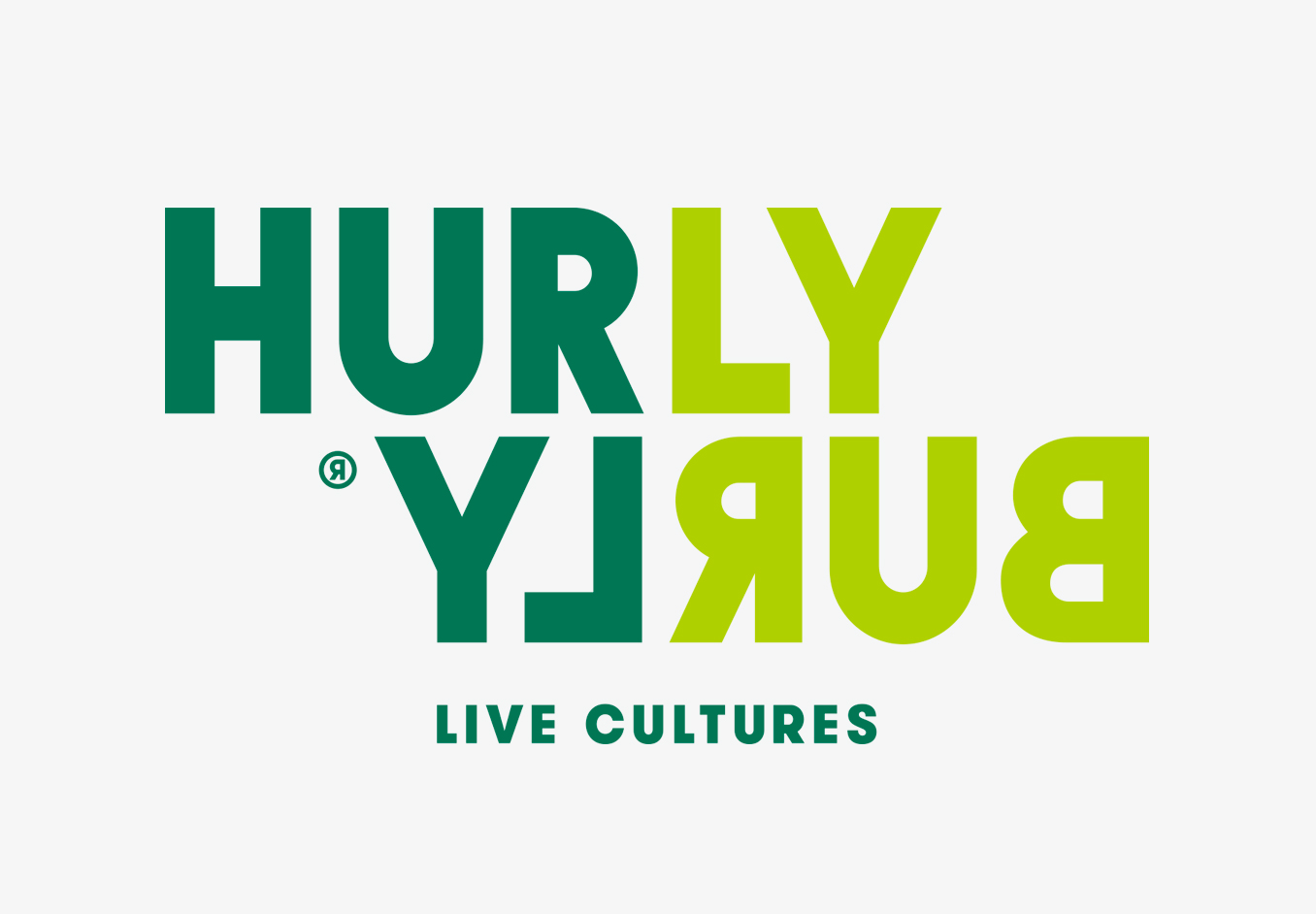 Logotype by London-based Midday Studio for Hurly Burly