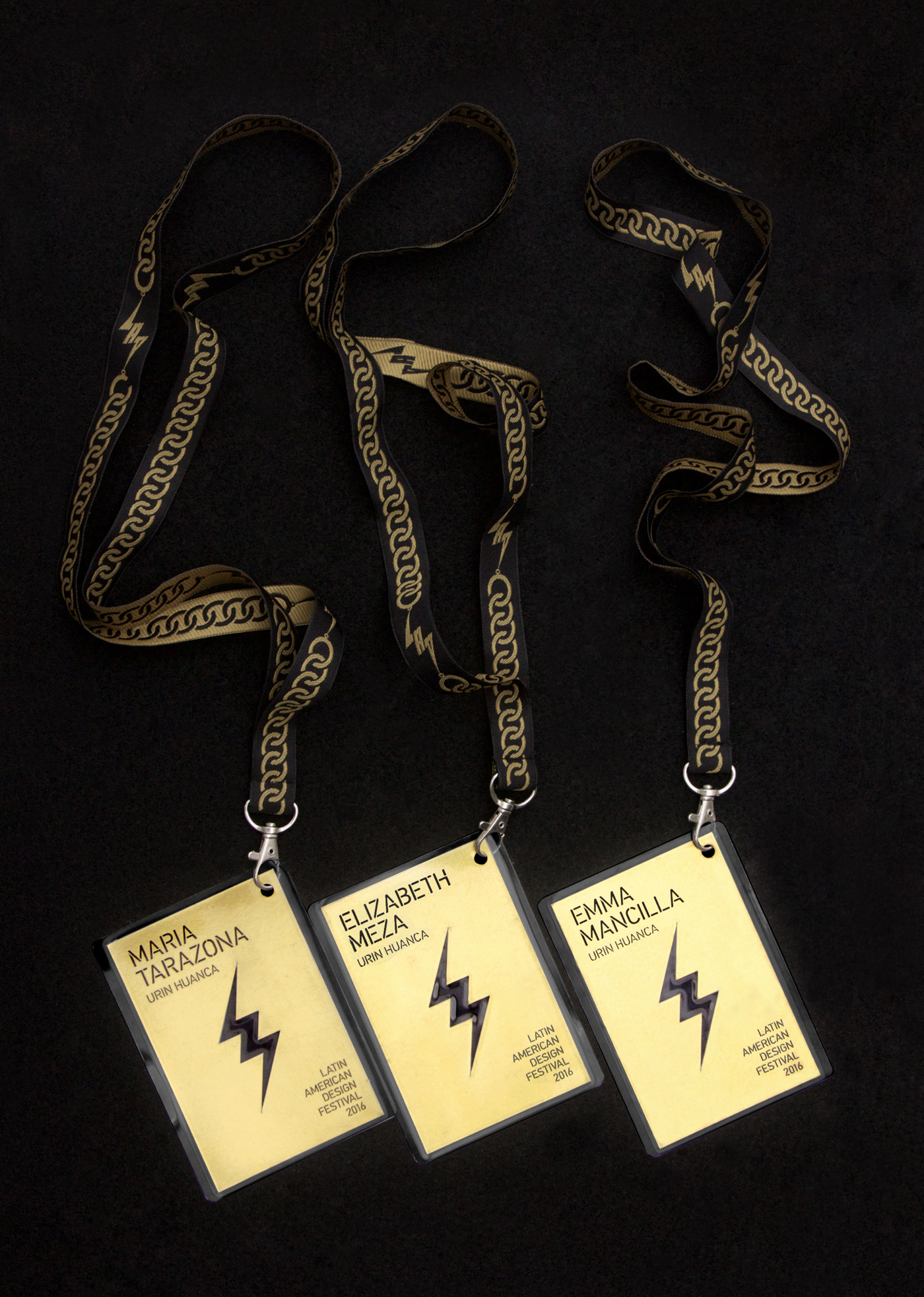 Brand identity and lanyards for Latin American Design Festival 2016 by IS Creative Studio
