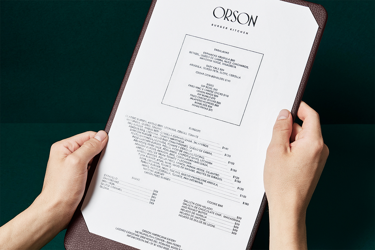 new logo branding amp interior for orson by anagrama � bpampo