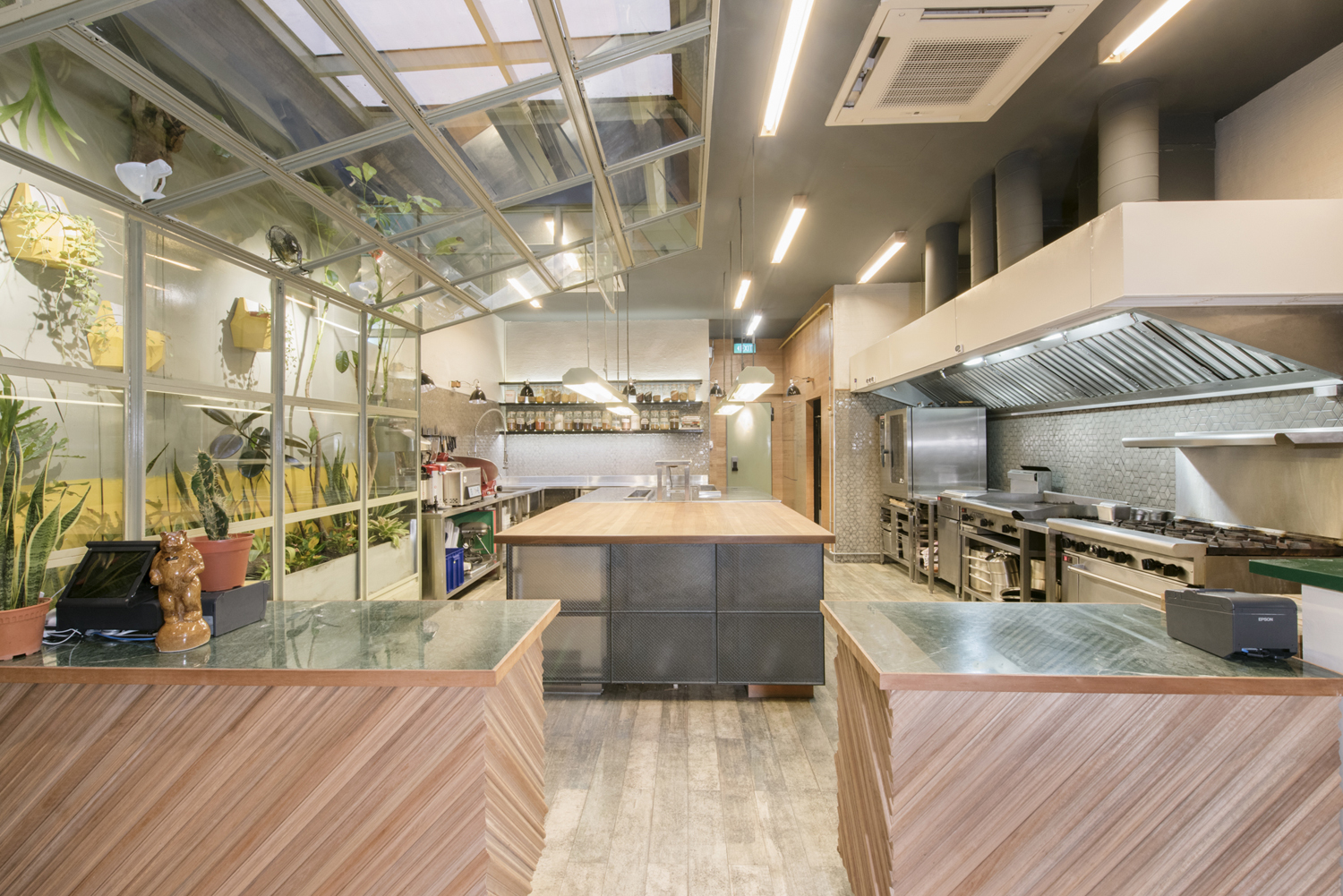 Interior design by Foreign Policy for Singapore's Park Bench Deli