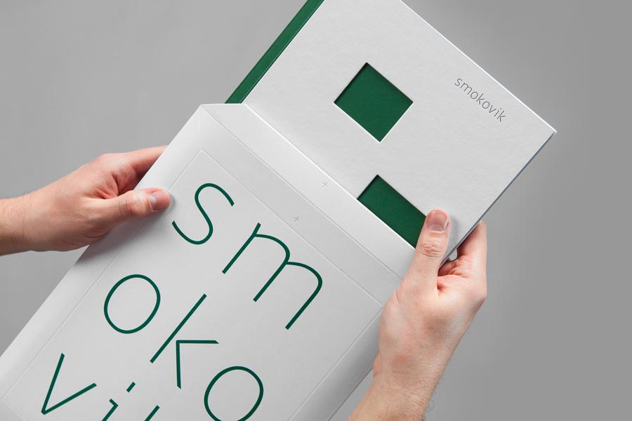 Branding and brochure design by Studio8585 for Croatian property development Smokovik
