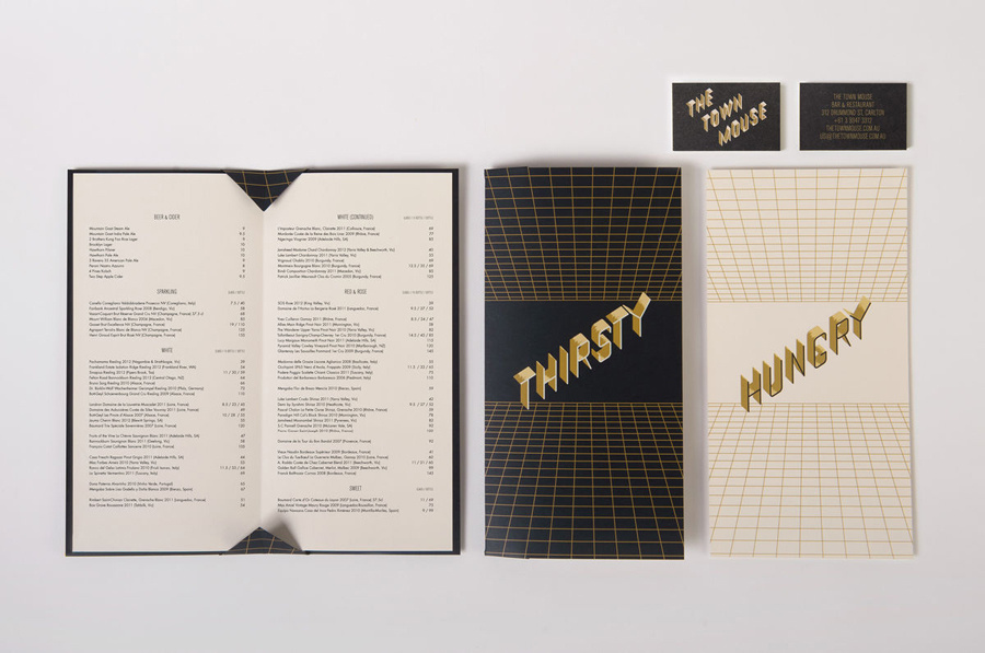 The Best Menu Designs Inspiration amp Gallery BPampO