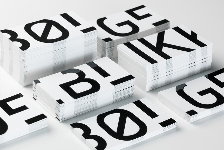 Black & White Branding – Bølgeblikk Arkitekter by Tank, Norway