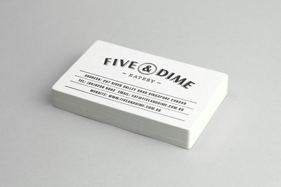 New Brand Identity for Five & Dime by Bravo - BP&O