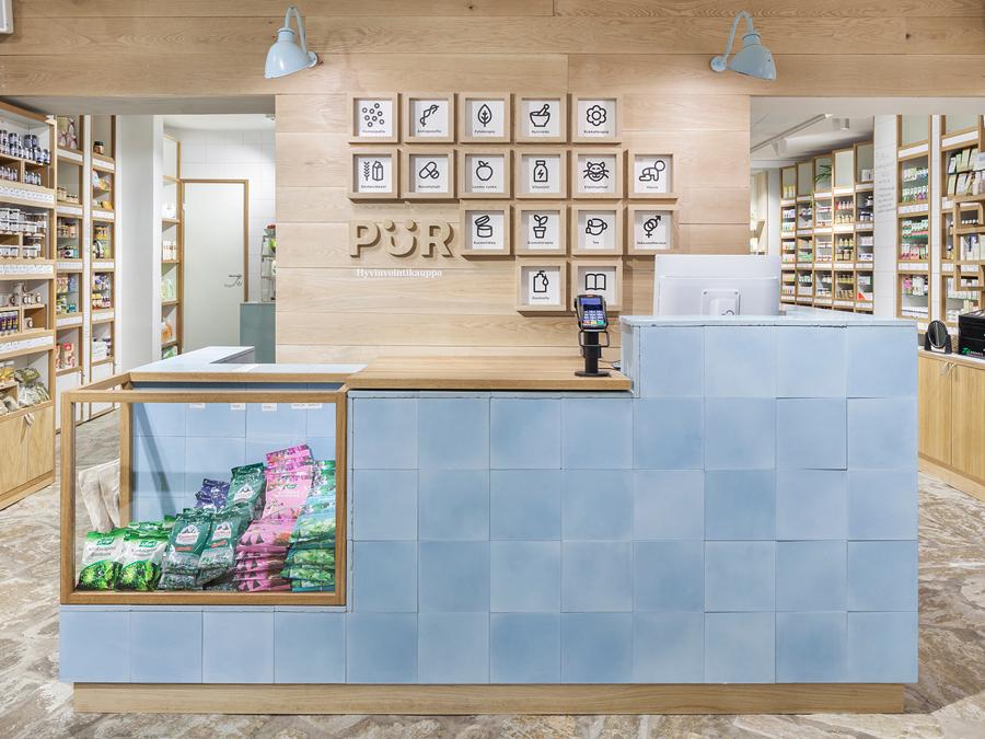 Branding & Interior Design – PÜR by Bond, Finland