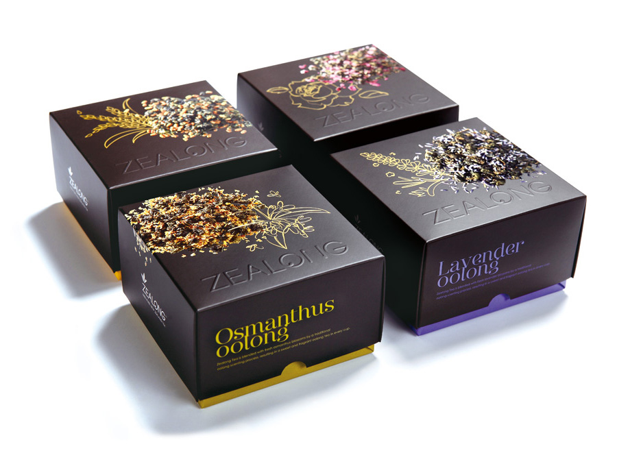 New Packaging for Zealong Flavoured Tea by Victor Design ...