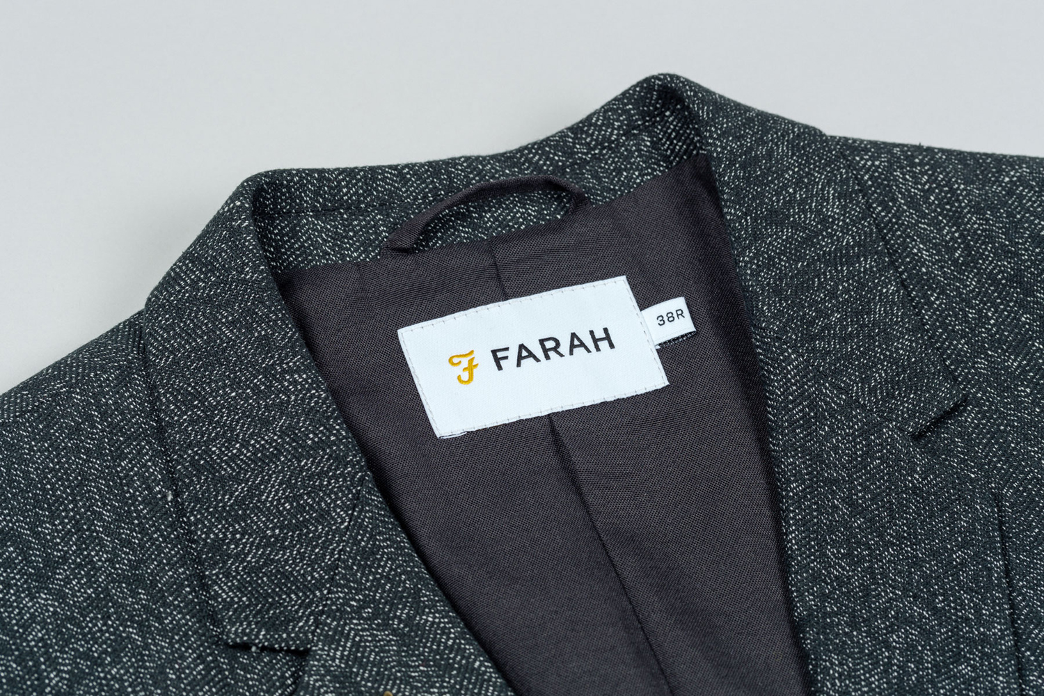Branding for UK men's fashion brand Farah Farah by graphic design studio Post