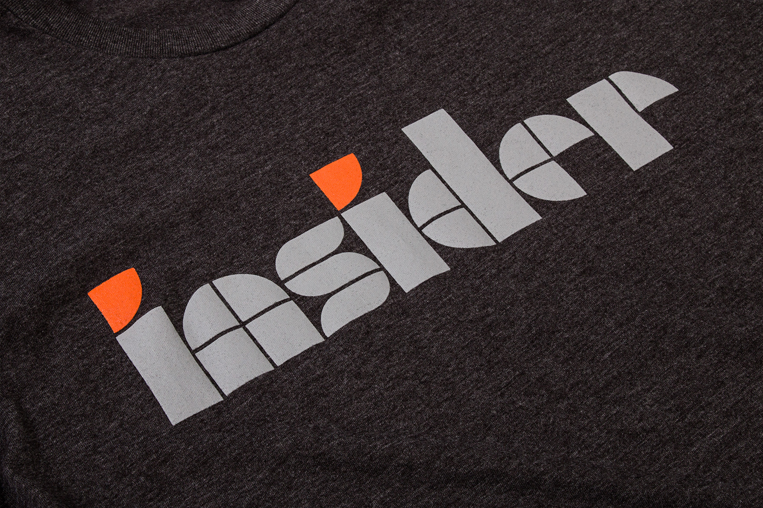Brand identity and T-shirt by Mucho for office space planning, design and project management company Inside Source