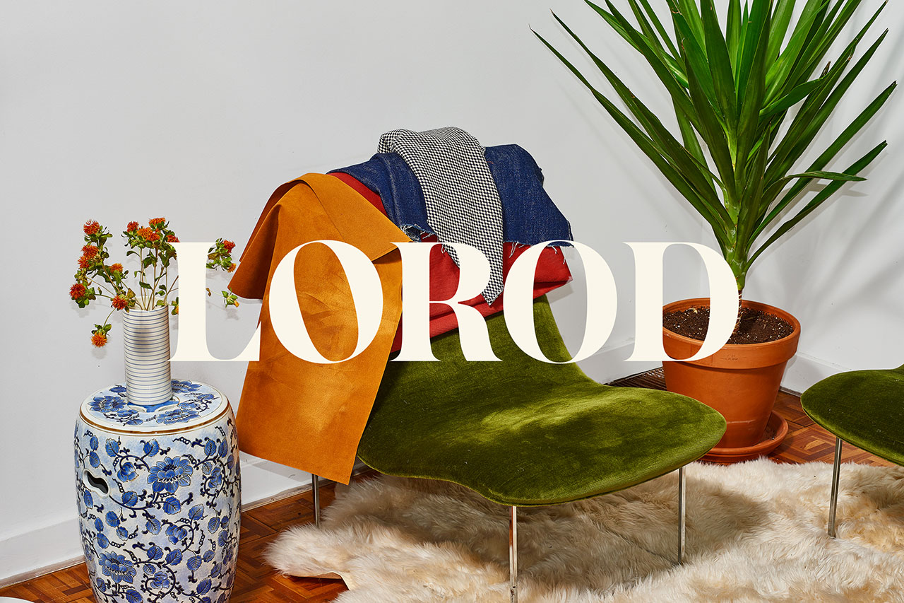Brand identity by Pentagram's Natasha Jen for fashion brand Lorod.