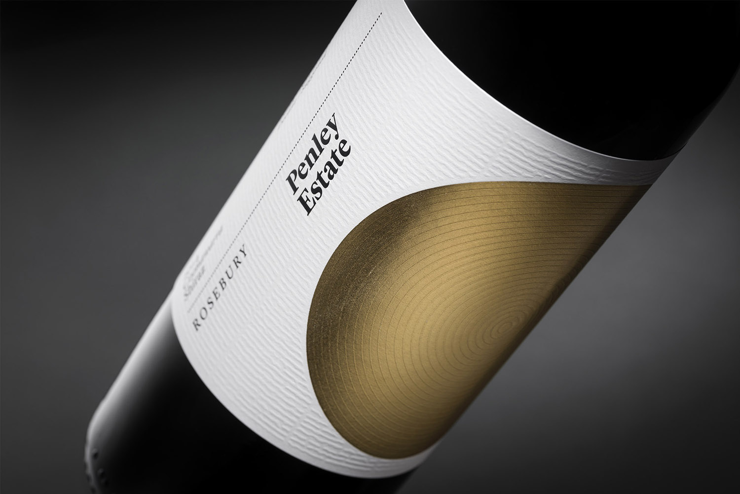 New brand identity and packaging by Parallax Design for family run and award winning winery Penley Estate, Australia