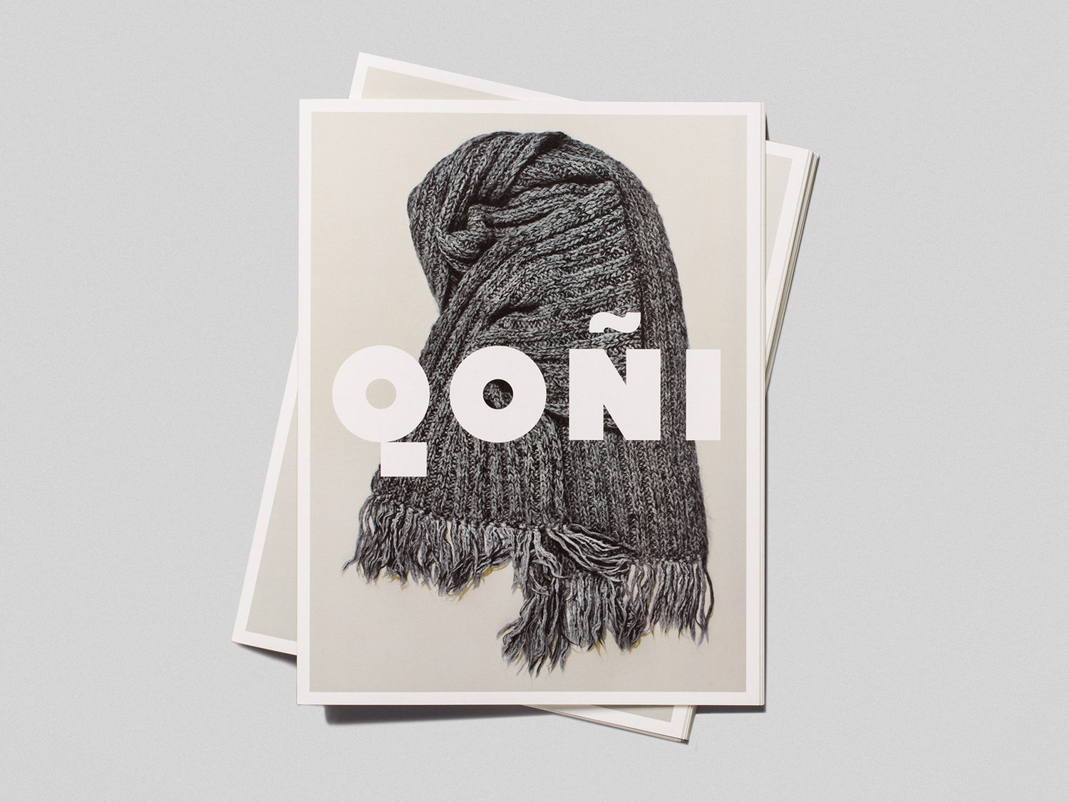 Brand identity and lookbook by Toronto-based Leo Burnett Design for Peruvian handmade knitwear brand Qoñi