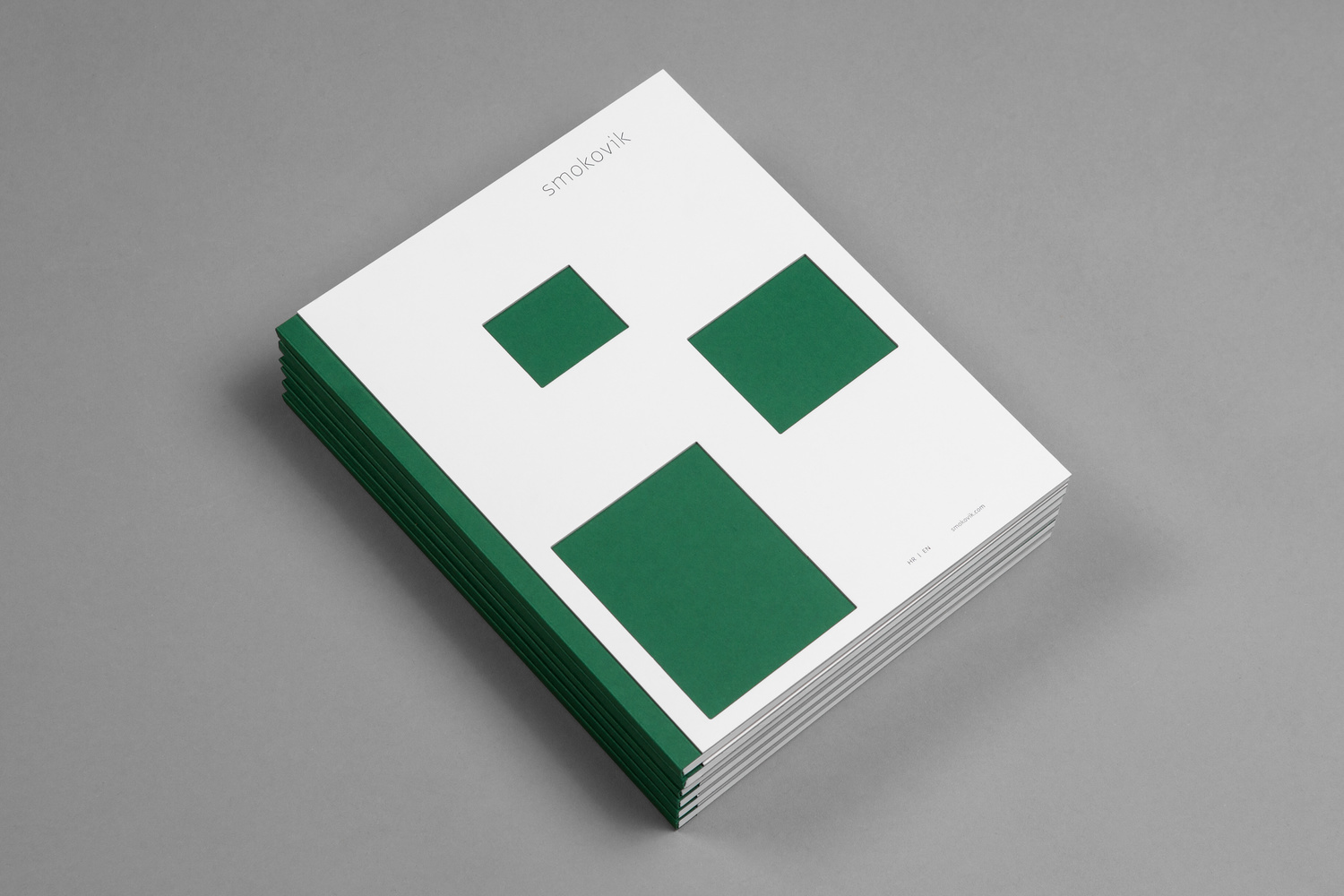Brand identity and brochure by Studio8585 for Croatian property development Smokovik