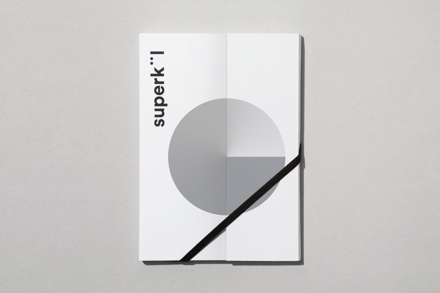 Brand identity and notebook by Toronto-based graphic design studio Blok for Canadian architecture firm Superkül