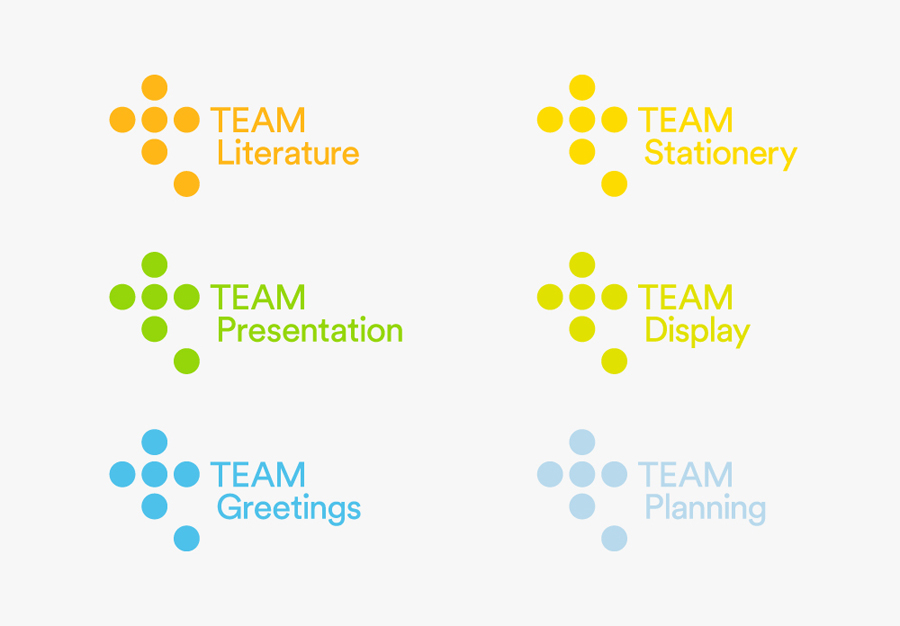 Logo for Leeds based print production business Team Impression by Design Project