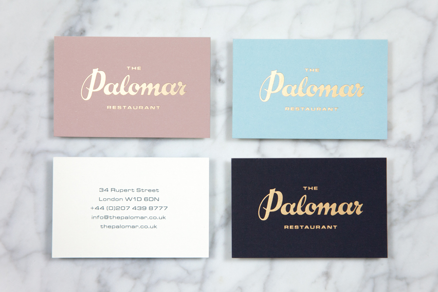 New Brand Identity For The Palomar By Here Bp Amp O
