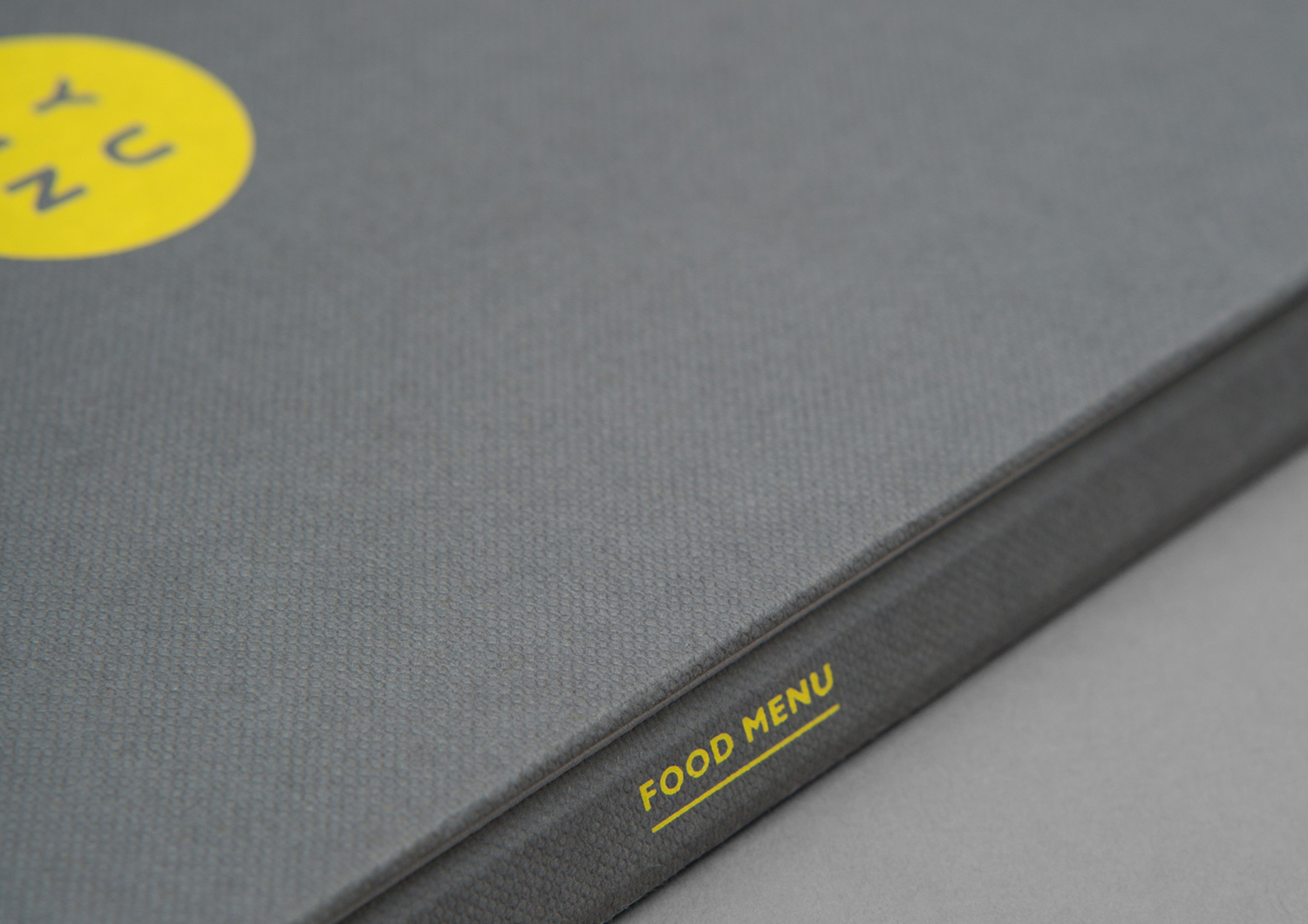 Brand identity and menu by Brighton-based Filthymedia for Boxpark Croydon's casual luxury restaurant Yumn