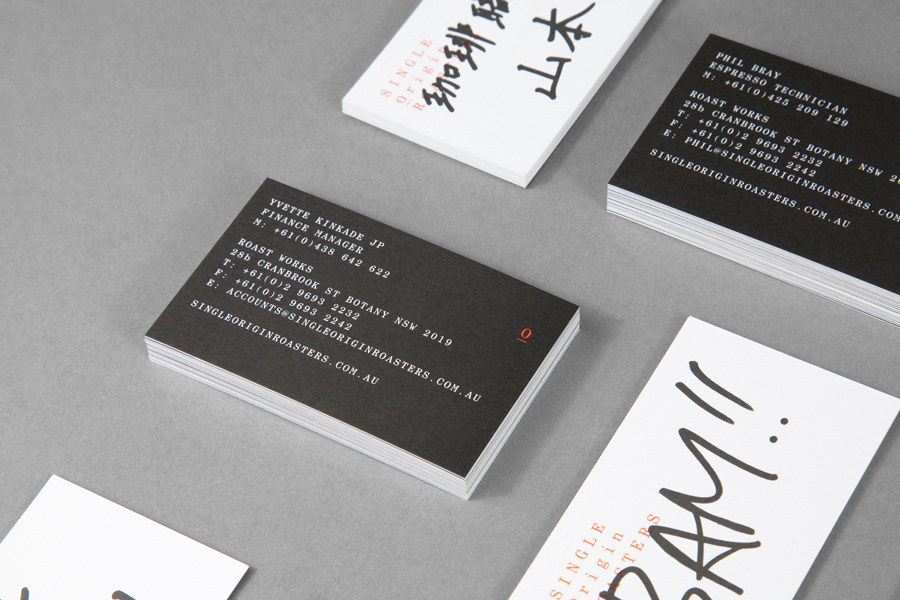 New Brand Identity for Single Origin Roasters by Maud BP&O