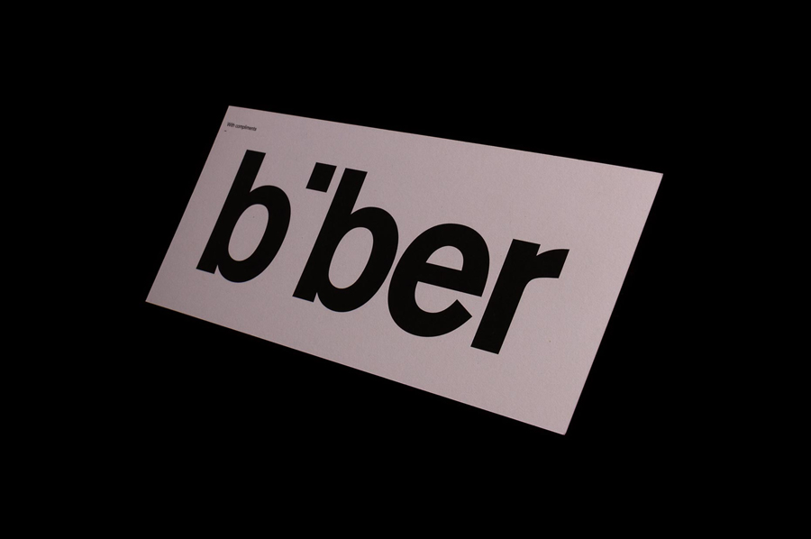 Branding for Biber Architects designed by Spin