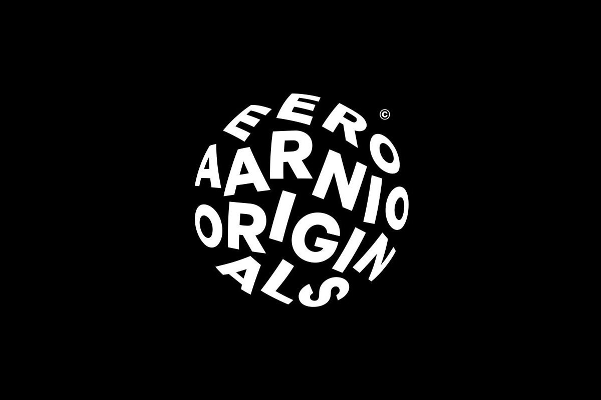 Eero Aarnio Originals logo designed by Bond, Finland