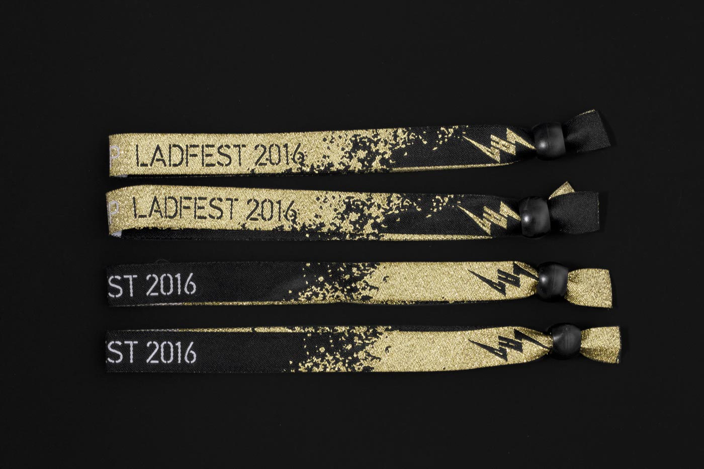 Brand identity and wristbands for Latin American Design Festival 2016 by IS Creative Studio