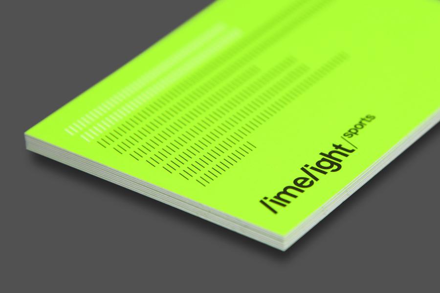 Brand Identity for Limelight Sports by Studio Blackburn BP&O