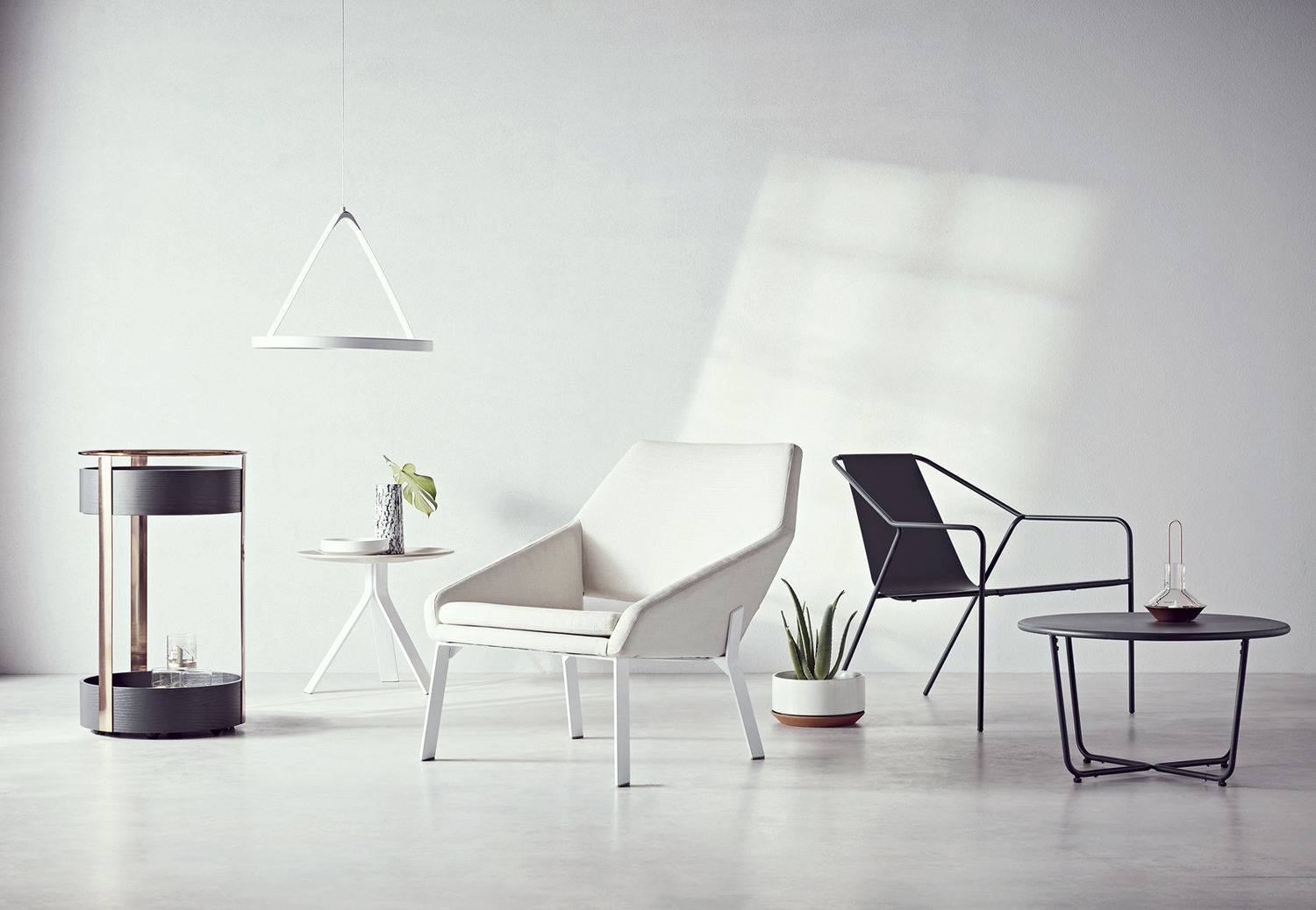 Art direction and product photography by New York studio Collins for product and furniture range Modern by Dwell Magazine, a collaboration with Target.